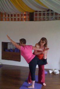 Hazel adjusting Pauline(1)