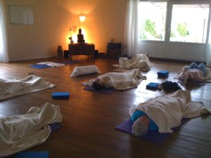 Yoga room in France 2010